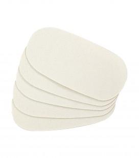 Körperpflege - Fusspflege - Anti-hornhautpflege - 5 selbstklebende Nachfüller für Hornhautfeilen - Art.-Nr. 550441