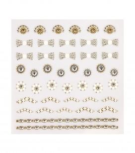 Jewels selbstklebende nageldekoration