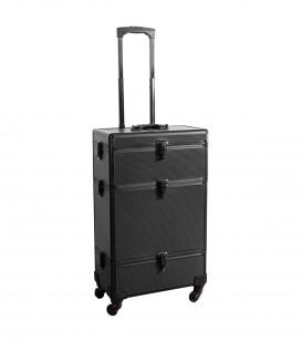 Make-up - Accessoires - Tassen en koffers - Studio Trolley-Koffer für Profis - black - Art.-Nr. 201200