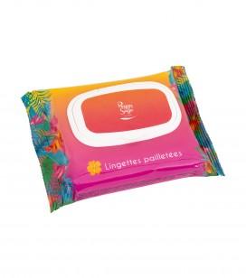 Körperpflege - Körperpflegeprodukte - Gamme scintillante - Erfrischungstücher mit Glitzer - Art.-Nr. 403385