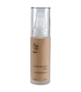 Mattierendes Make-up - beige doré