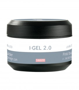 Aufbaugel rosa UV&LED I-GEL 2.0