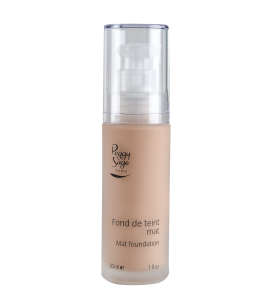 Mattierendes Make-up - beige naturel