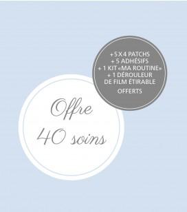 Körperpflege - Fusspflege - Anti-hornhautpflege - Set 40 professionelle Anti-Hornhaut Pflegen - Art.-Nr. 550520