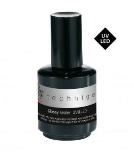 UV&LED Glossy sealer für Nägel, spezieller Chromeffekt