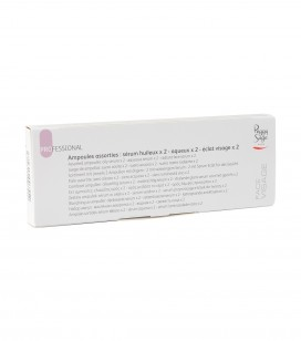Körperpflege - Handpflege - Cremes und pflegeprodukte - Sortiment mit  jeweils 2 Ampullen mit öligem - 2 mit wässerigem Serum – 2 mit Serum Eclat für das Gesicht - Art.-Nr. 400755