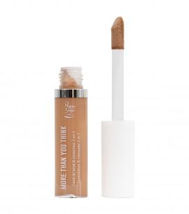 Maquillage - Teint - Fonds de teint - More than you think - FDT & correcteur 2 en 1 - Beige cuivré - Réf. 810545
