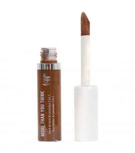 Maquillage - Teint - Fonds de teint - More than you think - FDT & correcteur 2 en 1 - Espresso - Réf. 810570