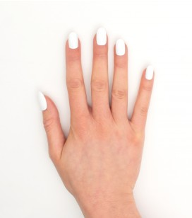 Ongles - Prothésie ongulaire - Gels - classy white - Réf. 146471