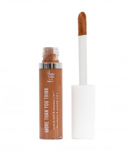 Maquillage - Teint - Fonds de teint - More than you think - FDT & correcteur 2 en 1 - Mocha - Réf. 810555
