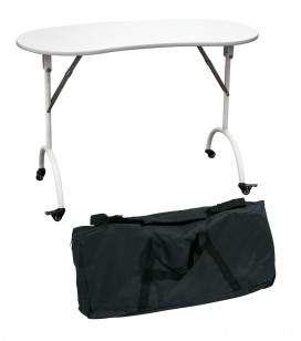 Accessoires pro - Mobilier d'institut - Table manucure pliante - Réf. 155115