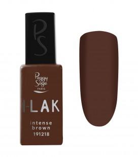 Vernis semi-permanent I-LAK  - intense brown - Réf. 191218