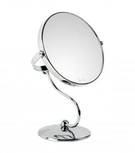 Maquillage - Accessoires - Miroirs - Miroir double face grossissant x10 sur pied - Réf. 155233