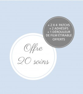 Kit 20 soins professionnels anti-callosités - Réf. 550500