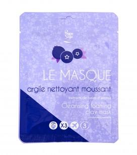 Le masque argile nettoyant moussant - Réf. 470213EC