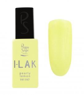 Ongles - Vernis semi-permanent - Vernis semi-permanent i-lak - I-Lak Pearly Lemon - Réf. 191197