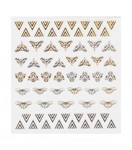 Ongles - Nail art - Décors pour ongles - Décors adhésifs pour ongles - Réf. 149218