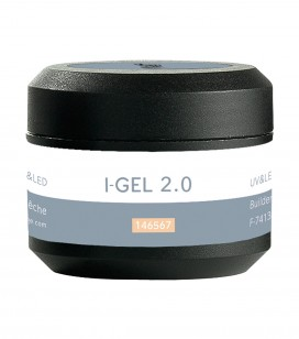 Ongles - Prothésie ongulaire - Gels - Gel de camouflage pêche UV&LED I-GEL 2.0 - Réf. 146567