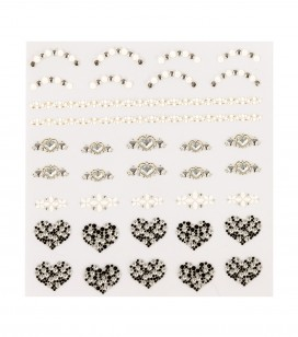 Ongles - Nail art - Décors pour ongles - Décors adhésifs pour ongles - Réf. 149239