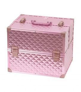 Maquillage - Accessoires - Petite bagagerie - Mallette professionnelle - pink studio - Réf. 201000