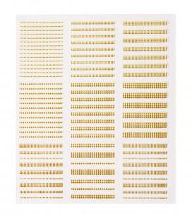 Ongles - Nail art - Décors pour ongles - Décor adhésifs pour ongles - Réf. 149718