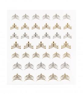 Ongles - Nail art - Décors pour ongles - Décors adhésifs pour ongles - Réf. 149219