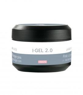 Ongles - Prothésie ongulaire - Gels - Pink UV&LED cover gel I-GEL 2.0 - Réf. 146572