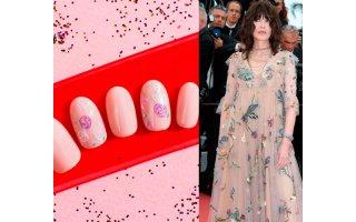 Nail Art inspiré du Festival de Cannes 2018