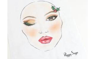 Make-up de Noël