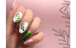 Tuto Nail Art transfer foils - Sommer 2020