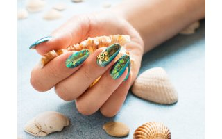 Look Nail Art Mermaid