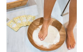 Routine soin des pieds kit foot spa