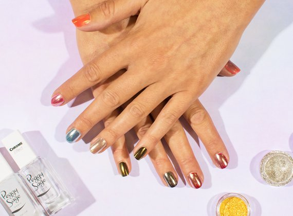 Nail,art Pigments effet chrome