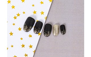 NAIL ART A PAILLETTES FACILE