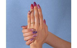 Tuto Nail Art Floral - Plastigel
